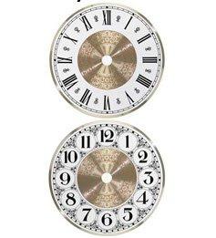 Clock Parts 6 inch Fancy Clock Dial Face